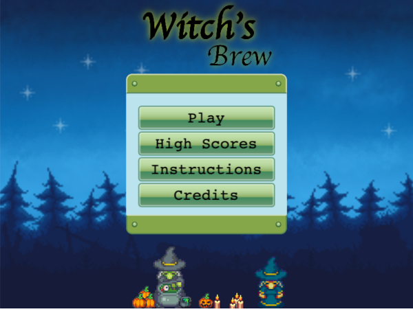 Witch's Brew screenshot